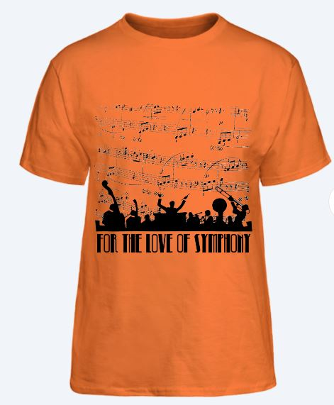 love of symphony tee